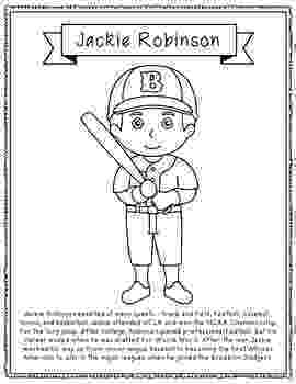 jackie robinson coloring page black history month printables classroom doodles jackie page robinson coloring