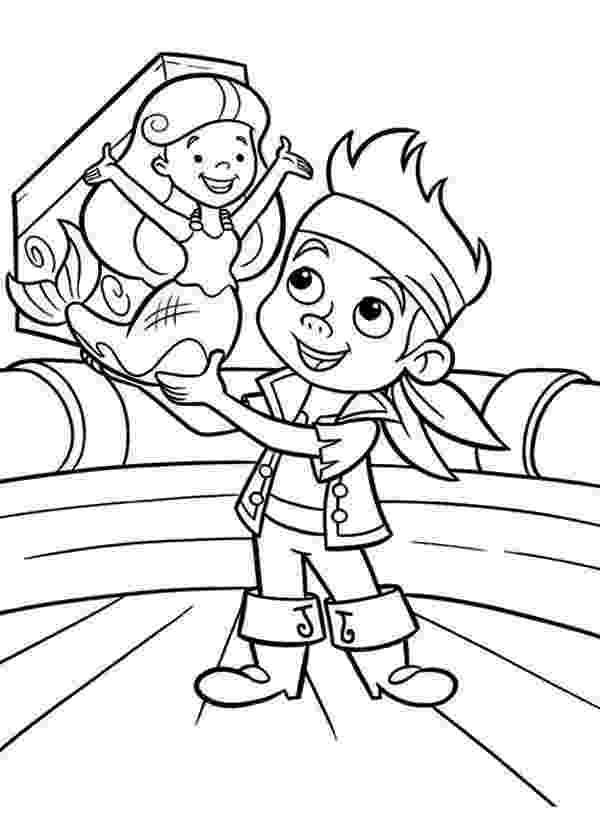 jake and the neverland pirates captain hook coloring pages jake saves the young mermaid from captain hook coloring coloring hook captain pages jake neverland pirates and the