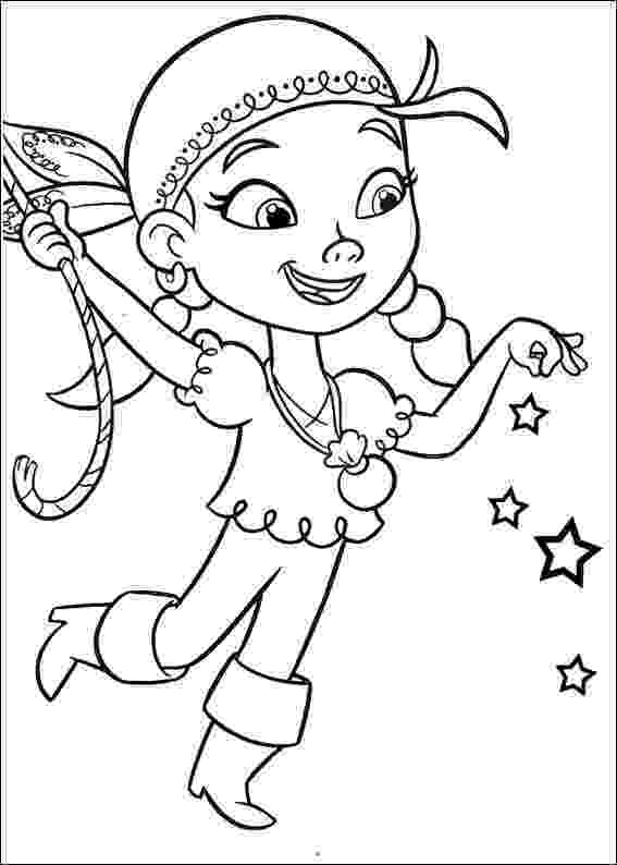 jake neverland pirates coloring pages izzy the young pirate girl from the neverland pirates team coloring jake neverland pages pirates