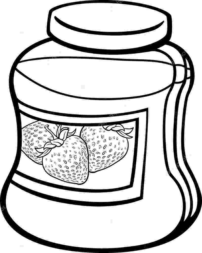 jam coloring pages cherry jam jar coloring page free printable coloring pages jam coloring pages