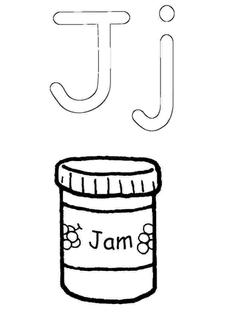 jam coloring pages j for jam coloring pages coloring for kids coloring jam pages coloring