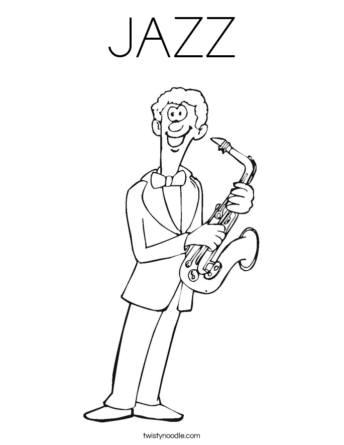 jazz coloring pages winged strawberry resources for parents and teachers coloring jazz pages