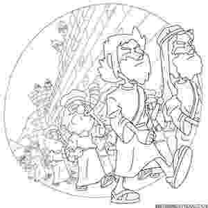 jericho walls coloring page joshua and the army march around jericho blowing trumpets coloring jericho walls page
