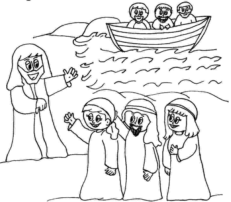 jesus and disciples coloring page jesus disciples jesus coloring page and