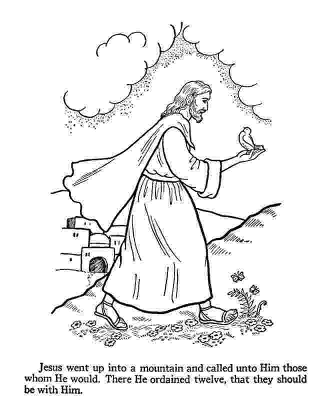 jesus and the 12 disciples coloring page first disciples of jesus coloring pages jesus calls his and coloring jesus the 12 page disciples