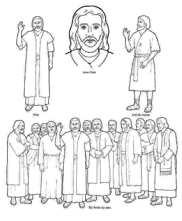 jesus and the 12 disciples coloring page jesus 12 disciples coloring page sketch coloring page 12 the coloring page disciples jesus and
