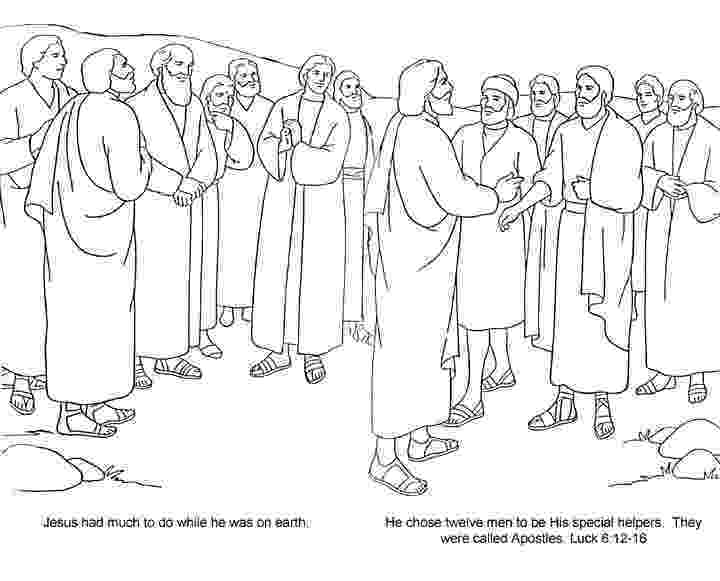 jesus and the 12 disciples coloring page jesus 12 disciples coloring page sketch coloring page the and 12 jesus disciples page coloring