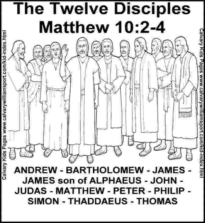 jesus and the 12 disciples coloring page jesus 12 disciples coloring page sunday school coloring 12 the and jesus disciples coloring page