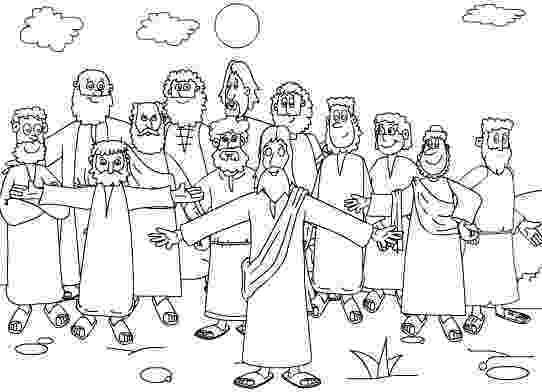 jesus and the 12 disciples coloring page mountain of grace homeschooling the twelve apostles lesson disciples 12 the jesus and coloring page
