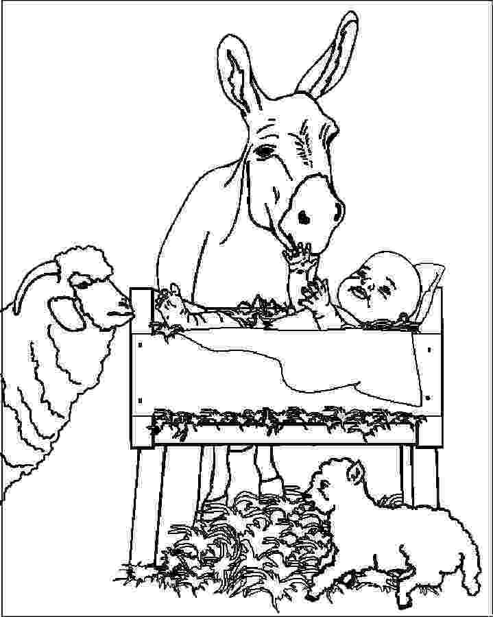 jesus in a manger coloring page all christian downloads jesus christ natural images download jesus coloring manger in page a