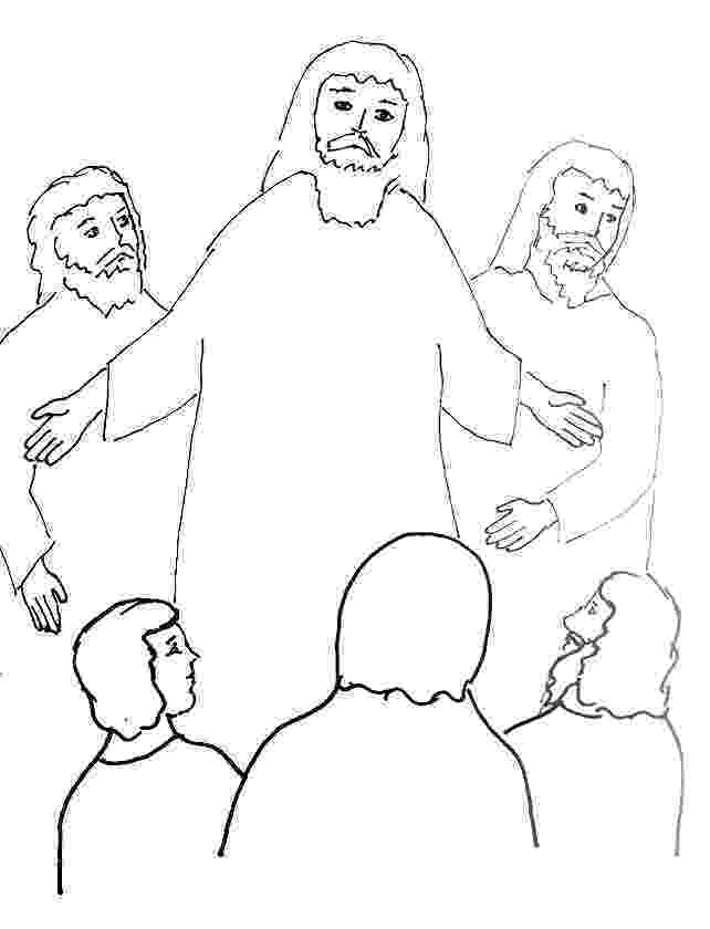 jesus transfiguration coloring page bible story coloring page for the transfiguration of jesus jesus page coloring transfiguration