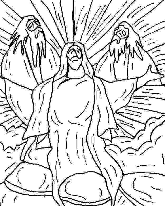 jesus transfiguration coloring page jesus transfiguration coloring page coloring home jesus page coloring transfiguration