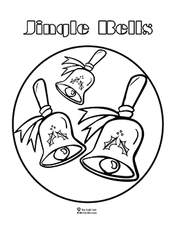 jingle bells coloring pages christmas coloring book jingle pages bells coloring