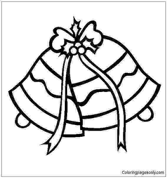 jingle bells coloring pages christmas silver jingle bells coloring page free coloring jingle bells pages