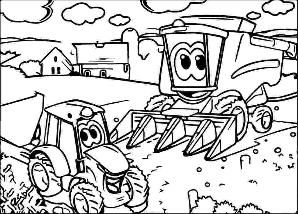 john deere combine coloring pages learning playtime activities john deere for kids pages john coloring deere combine