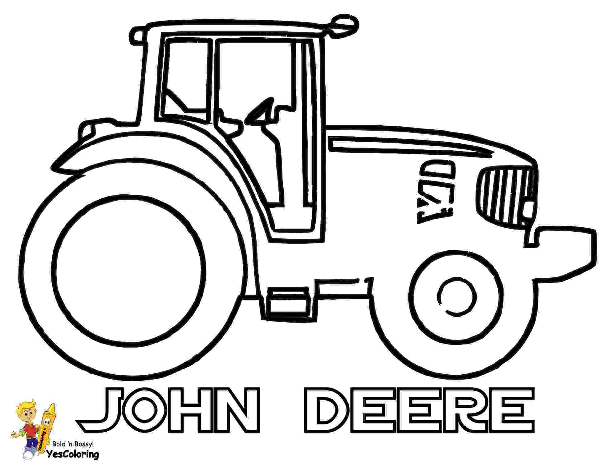 john deere combine coloring pages tractor free colouring pages pages combine deere john coloring