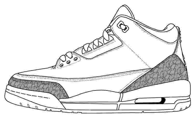 jordan coloring sheets air jordan silhouette at getdrawings free download jordan coloring sheets