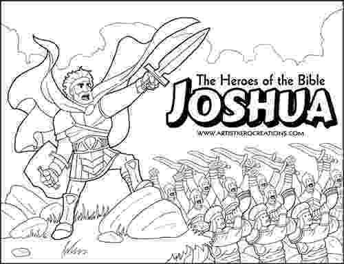 joshua and caleb coloring pages cartoon web illustration and caleb joshua coloring pages