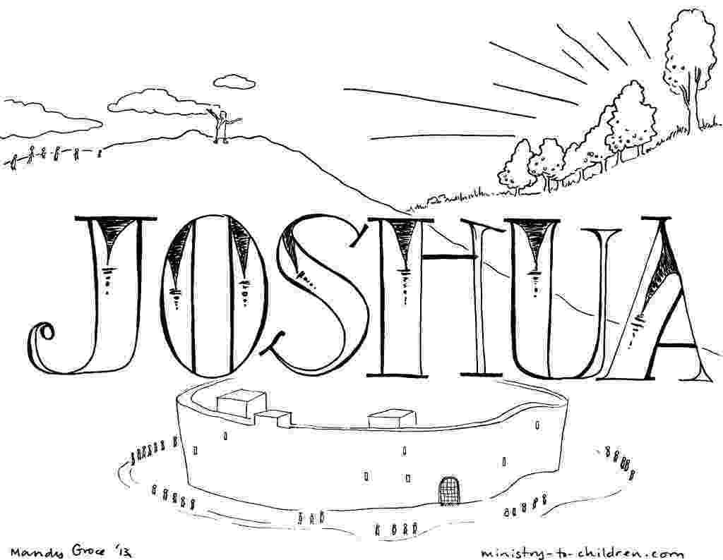 joshua and caleb coloring pages joshua and caleb coloring pages coloring home and caleb pages coloring joshua