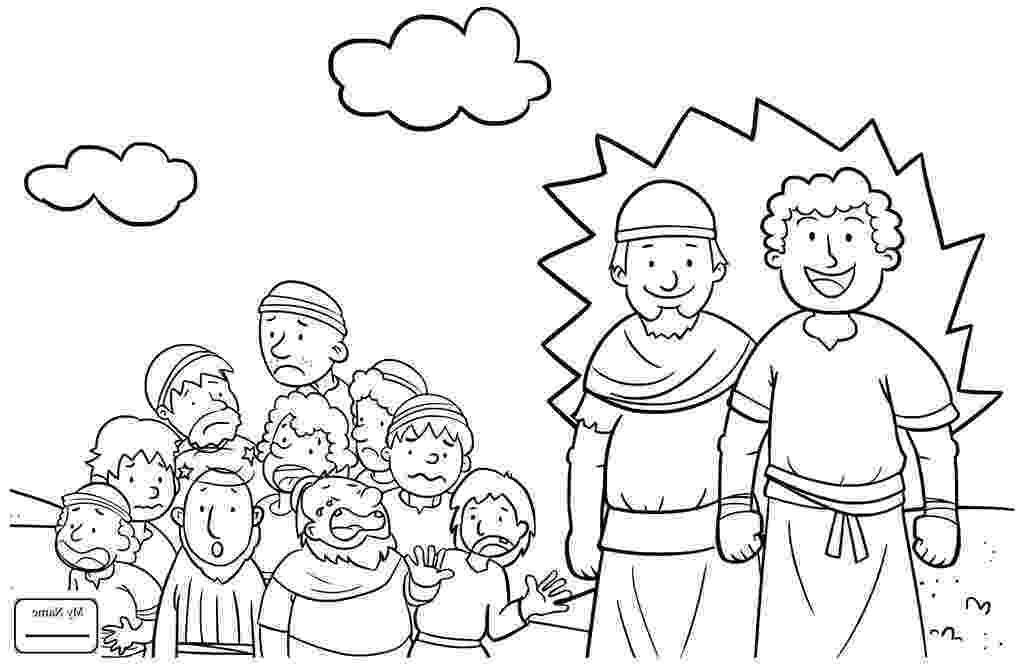 joshua and caleb coloring pages joshua and caleb coloring pages coloring home caleb pages coloring joshua and