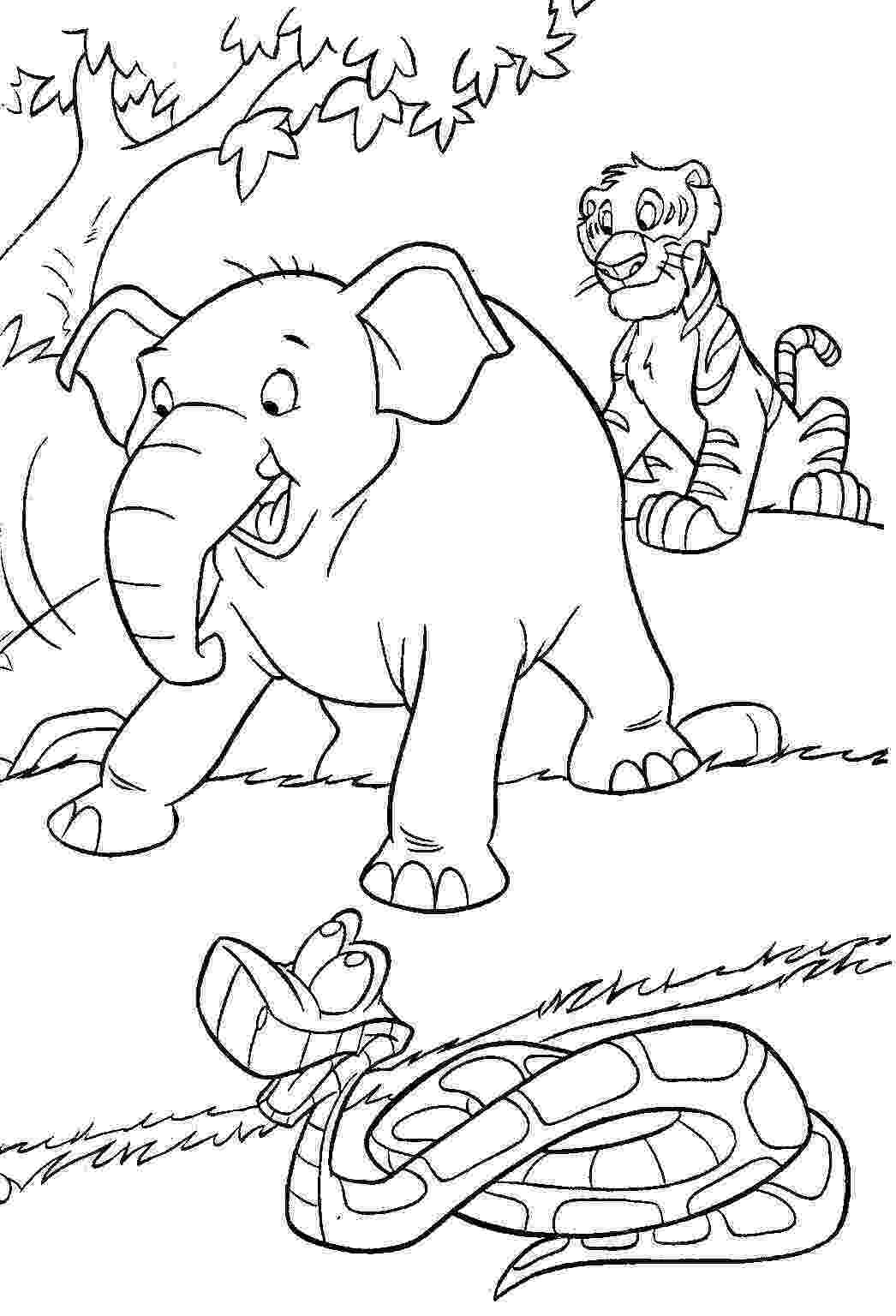 jungle animals coloring pages safari animals coloring pages getcoloringpagescom coloring jungle animals pages