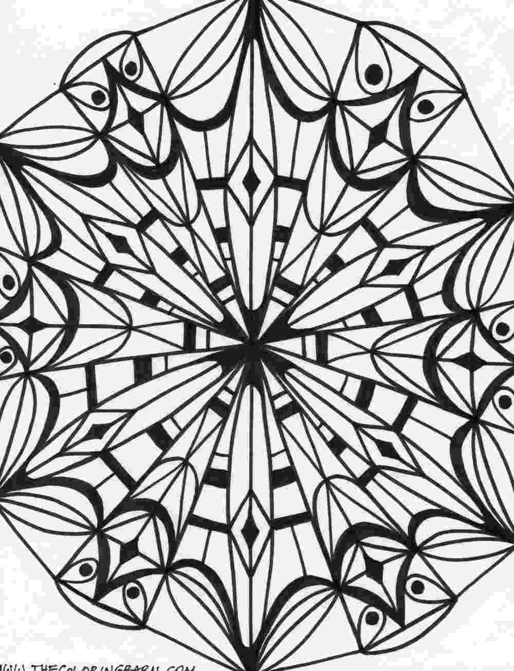 kaleidoscope colouring patterns 1000 images about printables on pinterest dover kaleidoscope patterns colouring