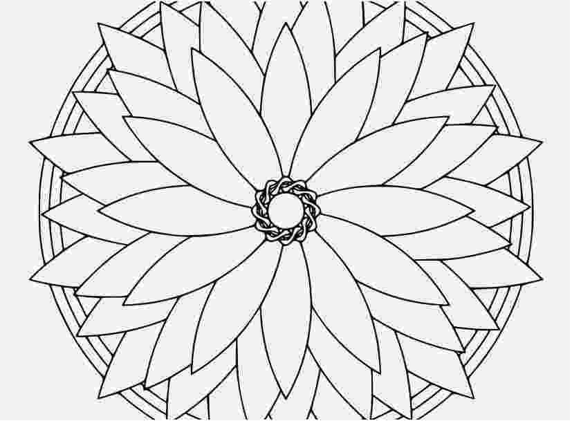 kaleidoscope colouring patterns kaleidoscope design coloring page free printable colouring kaleidoscope patterns