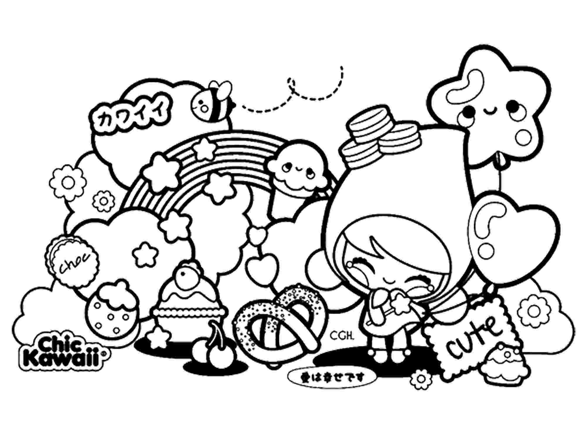 kawaii colouring pages kawaii coloring pages best coloring pages for kids pages kawaii colouring