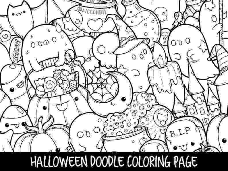 kawaii colouring pages marshmallows doodle coloring page printable cutekawaii etsy colouring kawaii pages