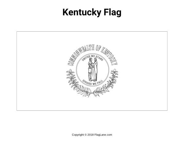 kentucky flag coloring page kentucky state seal coloring page free printable coloring flag page kentucky