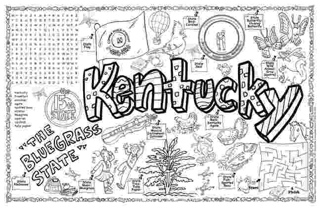 kentucky flag coloring page kentucky unit study state symbol coloring page by crayola flag page coloring kentucky