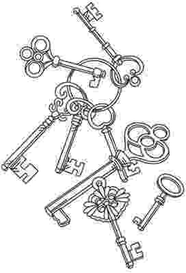 key coloring page coloring pictures keys key page coloring