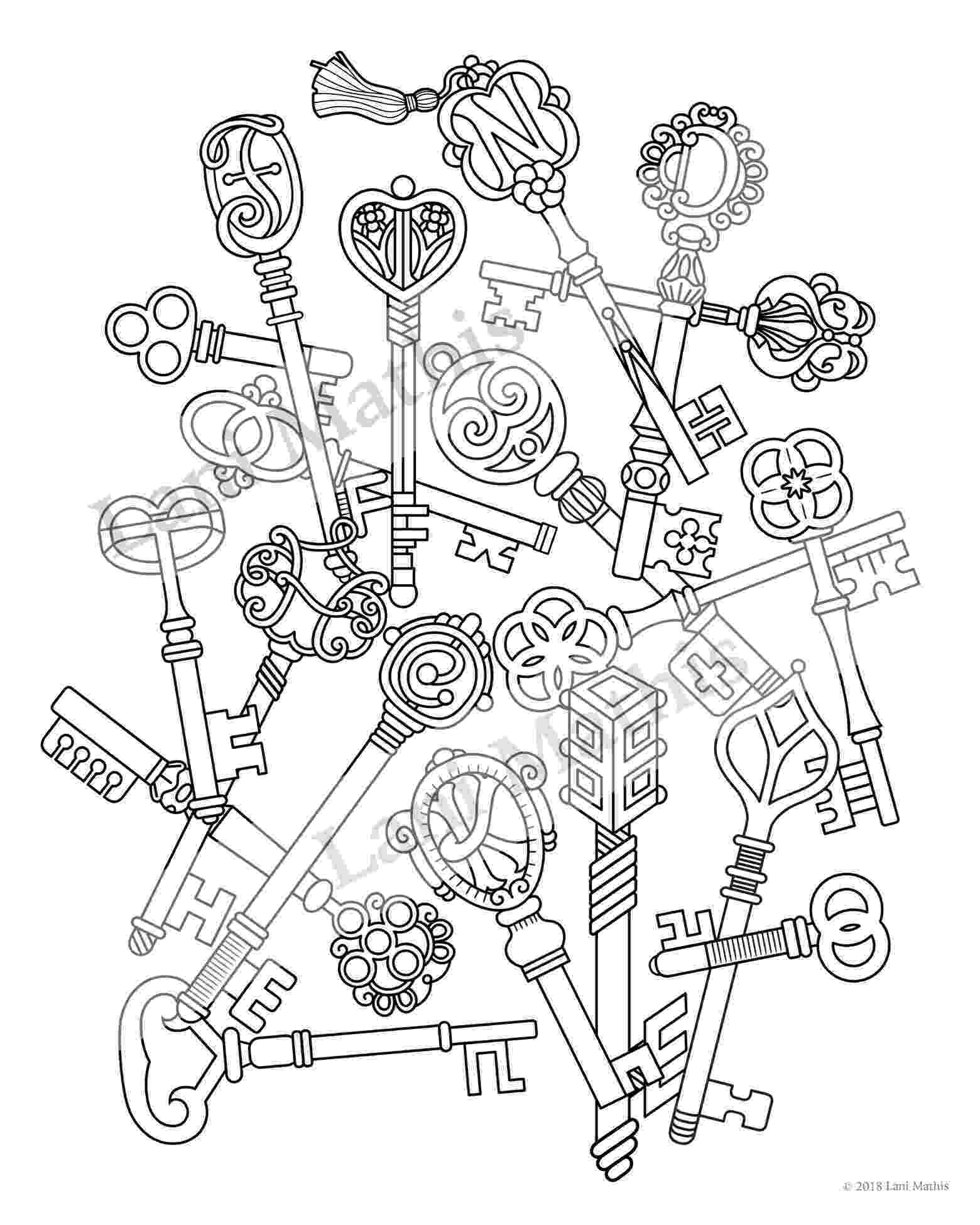 key coloring page k is for key coloring page twisty noodle page key coloring