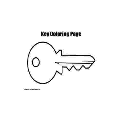 key coloring page keys coloring pages page coloring key