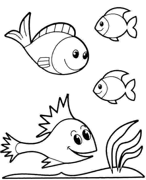 kids pictures of fish print download cute and educative fish coloring pages kids of fish pictures
