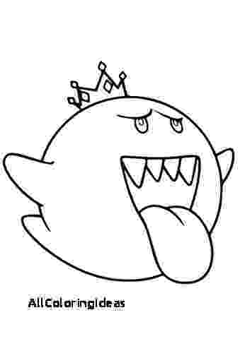 king boo coloring pages king boo mario game wii car sticker decal window coloring pages boo king