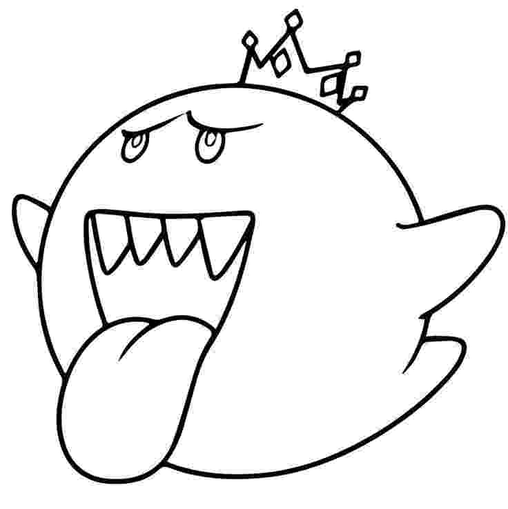 king boo coloring pages mario bros king boo coloring page free printable pages king boo coloring