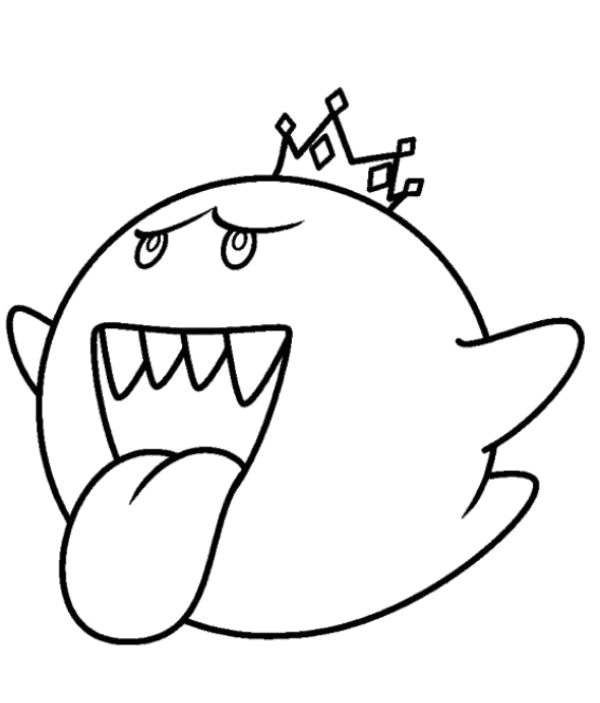 king boo coloring pages mario coloring pages king boo super mario coloring boo king coloring pages