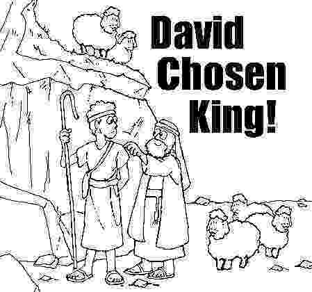 king david pictures color bible puzzles coloring pages samuel anointing david pictures color king david