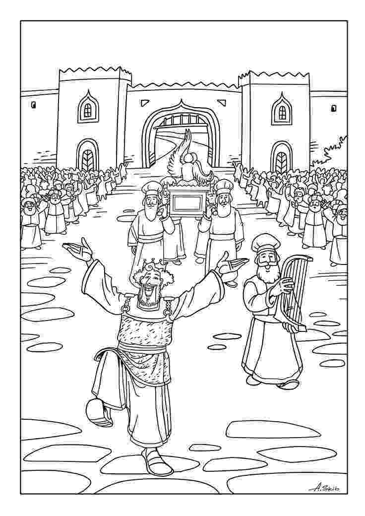 king david pictures color king saul and samuel coloring page kids creek sunday color king pictures david