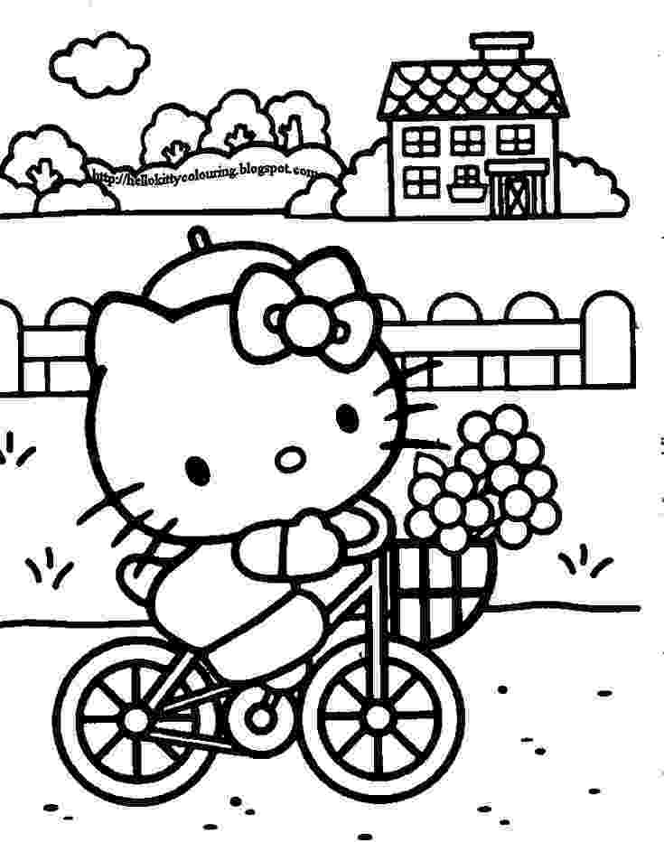 kitty printables 16 printable collection of hello kitty coloring pages printables kitty