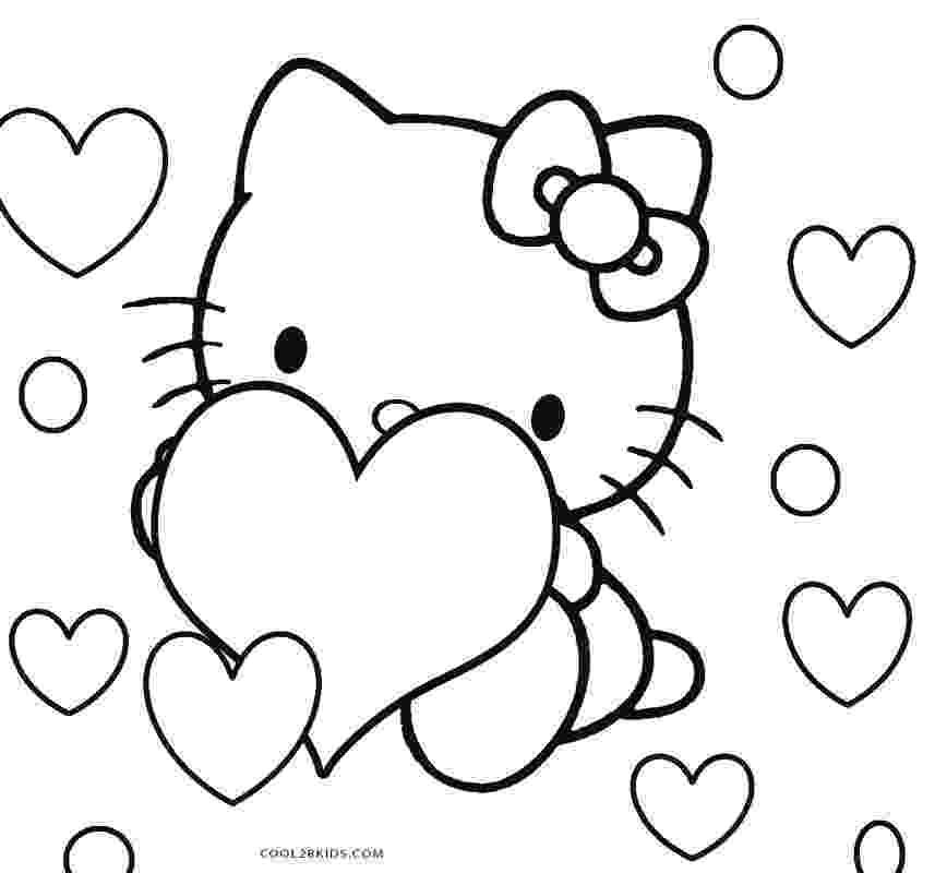 kitty printables hello kitty coloring pages lets coloring kitty printables