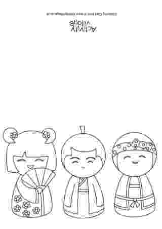 kokeshi dolls coloring pages kokeshi dolls coloring page free printable coloring pages pages coloring kokeshi dolls