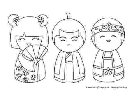kokeshi dolls coloring pages pinterest the worlds catalog of ideas pages kokeshi dolls coloring