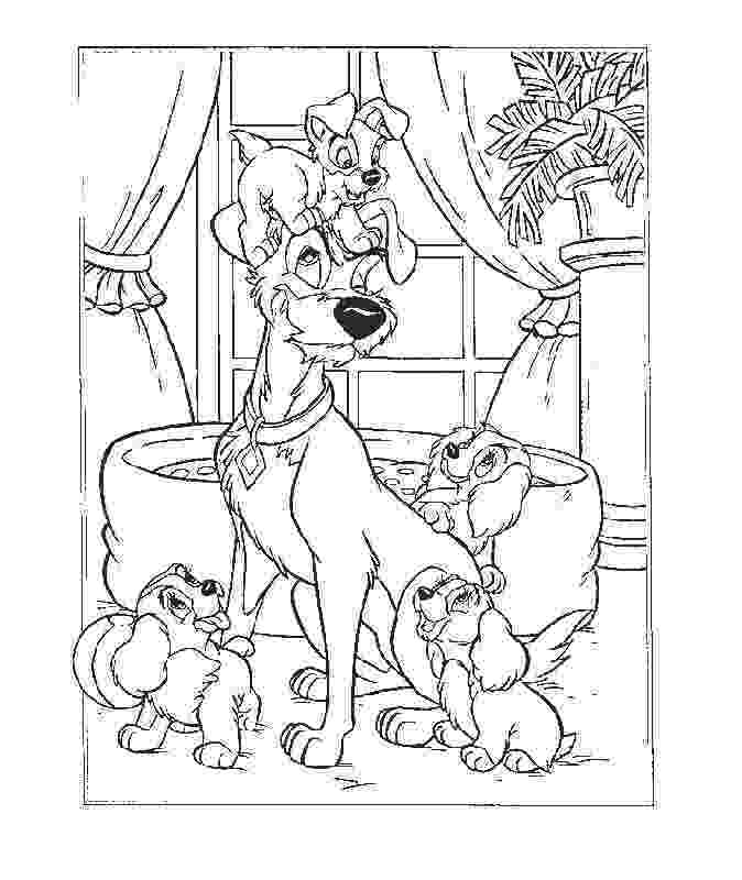 lady and the tramp coloring pages lady and the tramp coloring pages 4 colouring pages for the pages coloring lady and tramp