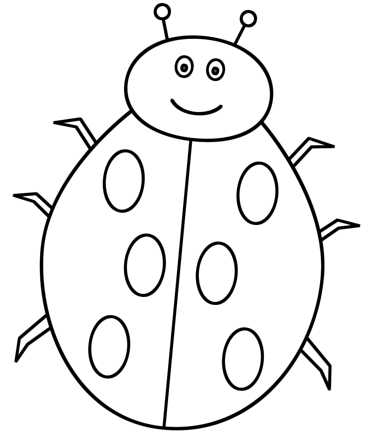 ladybird colouring page lady bird colouring page mummypagesmummypagesie colouring ladybird page