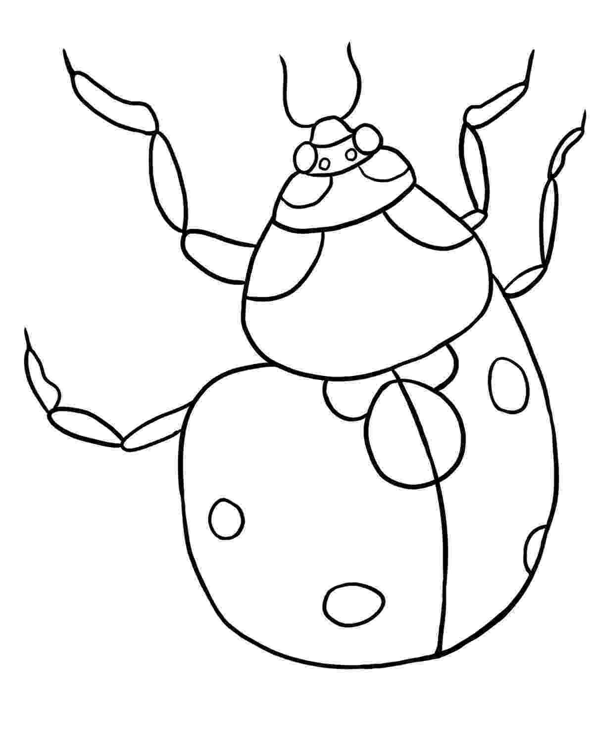 ladybird colouring page ladybug coloring pages to download and print for free colouring ladybird page 1 1