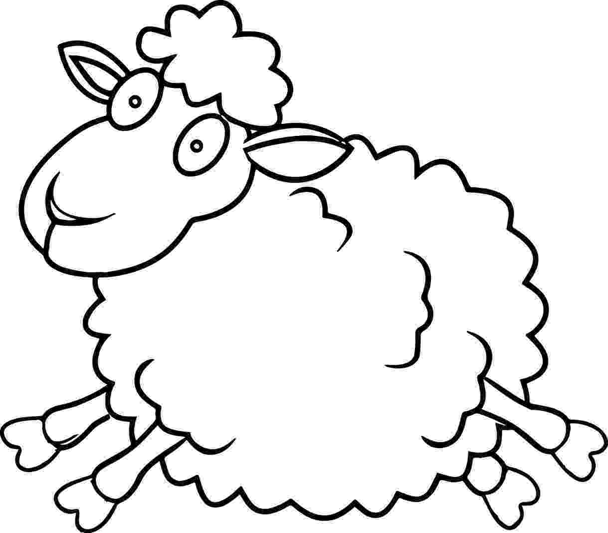 lamb color easter lamb coloring page two little baby lambs on the lamb color