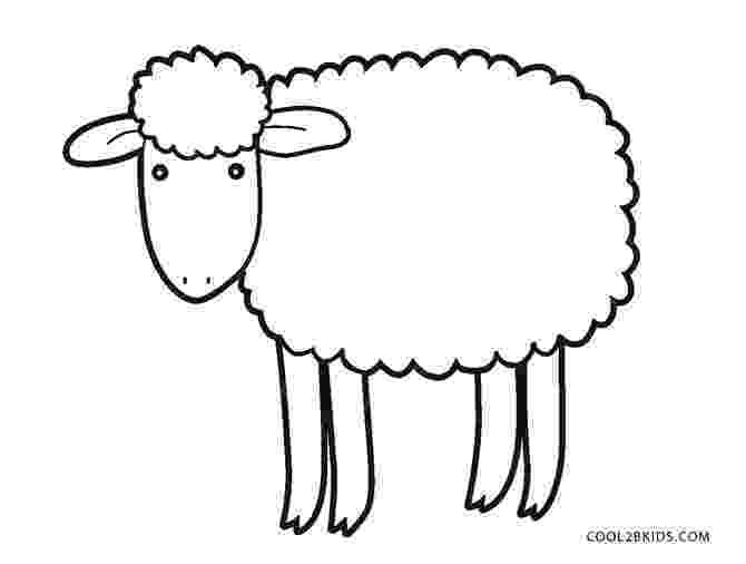 lamb color free printable sheep coloring pages for kids lamb color