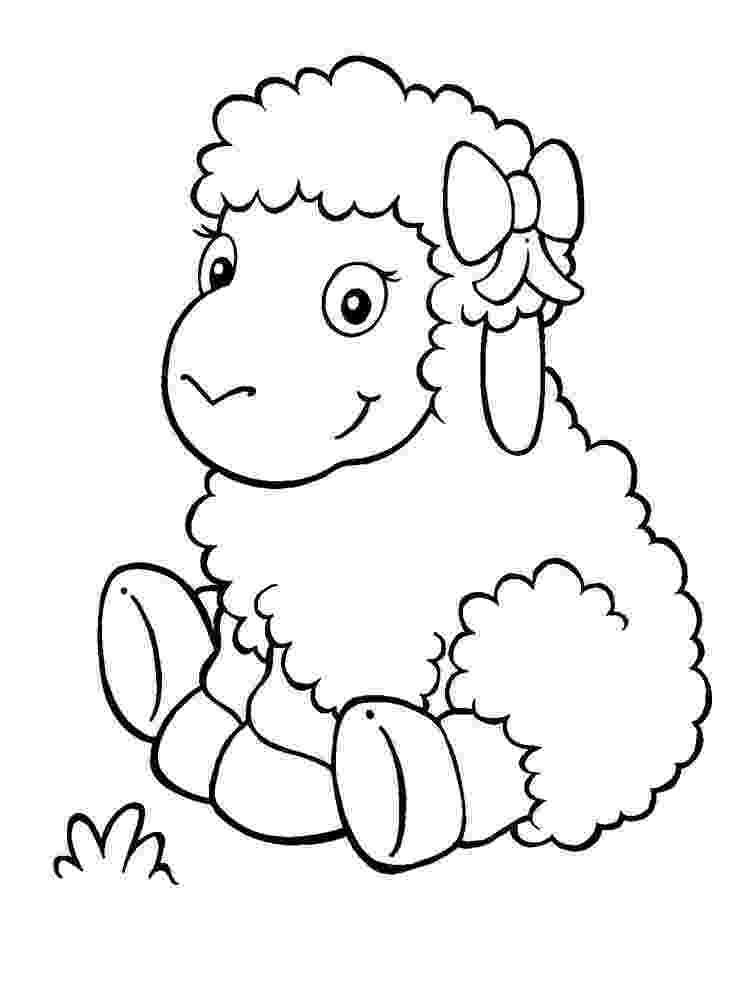 lamb color lamb coloring pages download and print lamb coloring pages lamb color